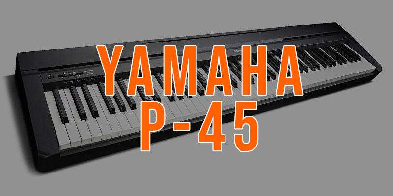 teclado o piano electrico yamaha p45
