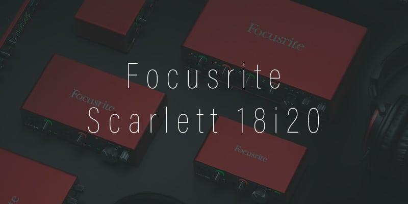 Descarga del driver de la tarjeta de sonido focusrite scarlett 18i20