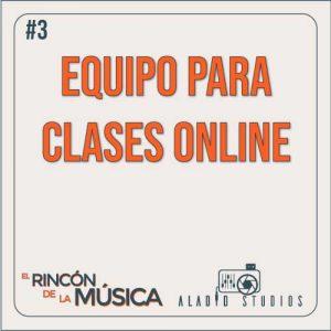3. Equipo de audio para clases online 1